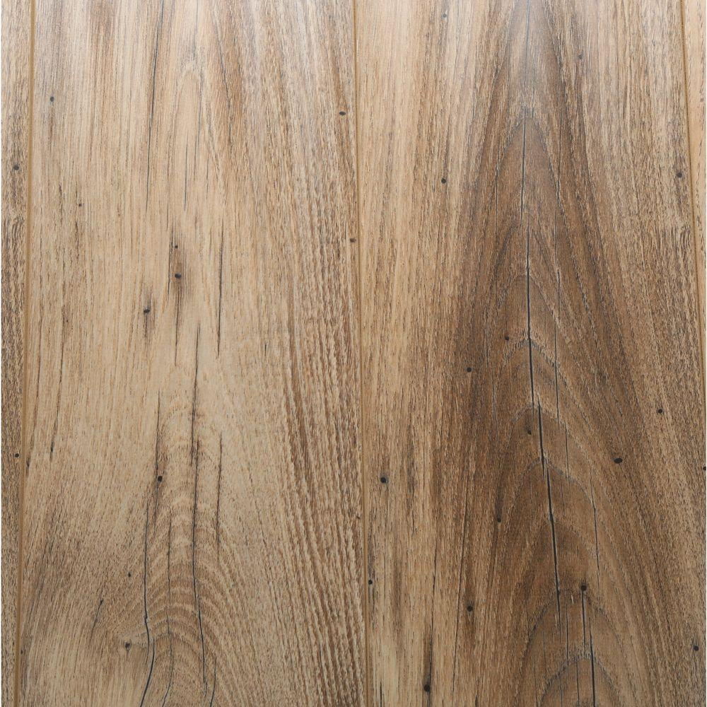 Awesome Bruce Reclaimed Chestnut 12 Mm Thick X 6.5 In. Wide X 47.83 In. Length