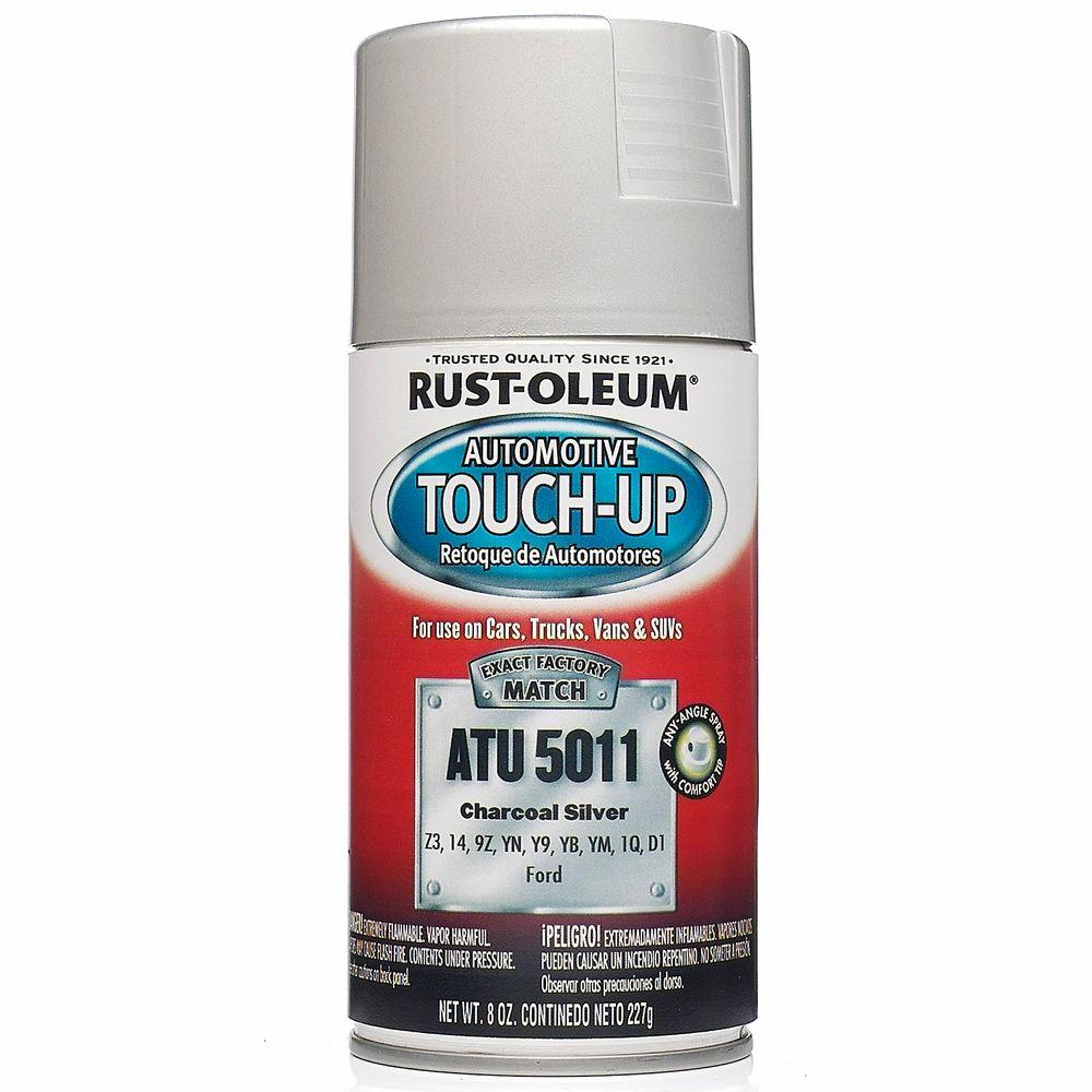 Rust-Oleum Automotive 8 oz. Charcoal Silver Auto Touch-Up Spray (6-Pack)