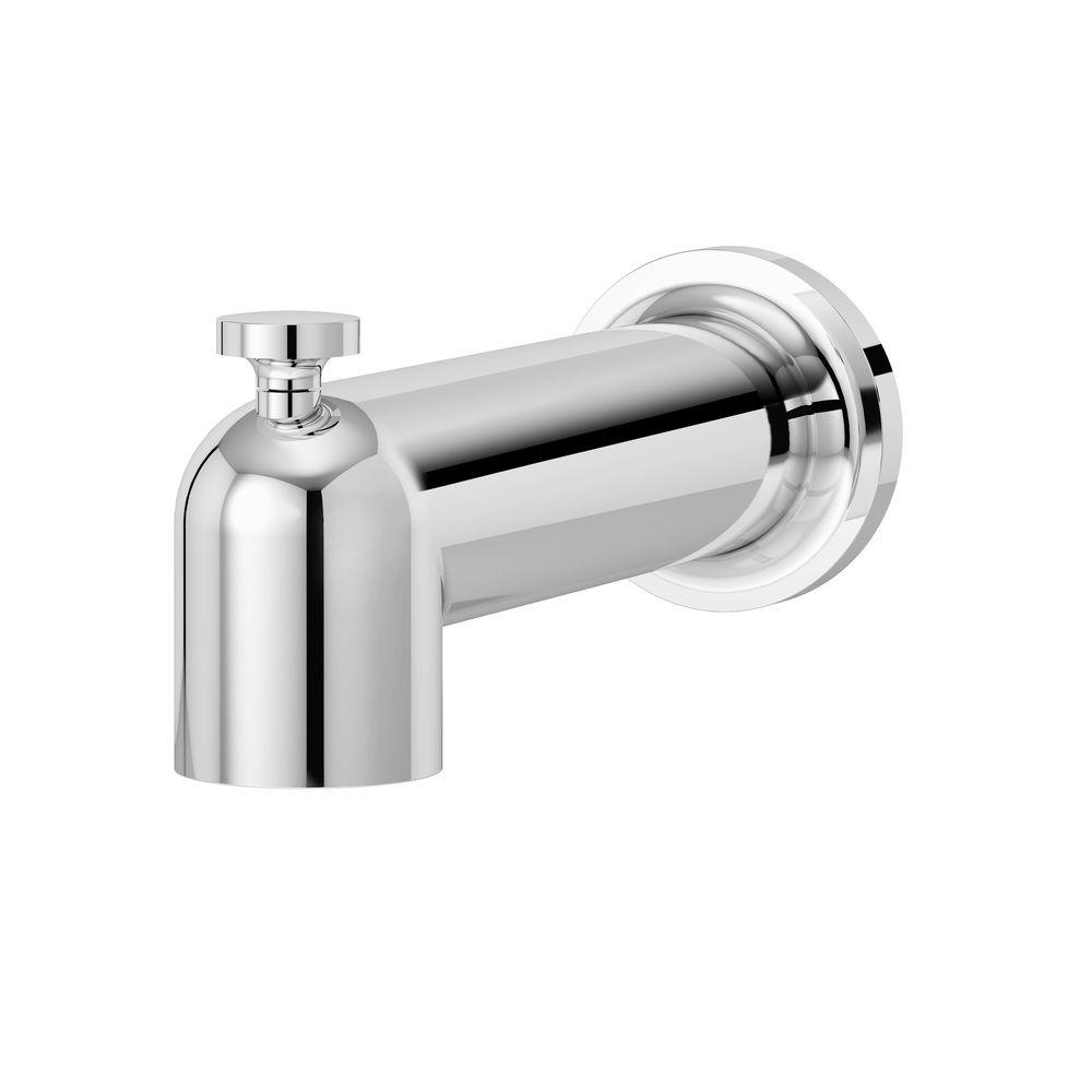 Symmons Museo Tub Spout in Chrome-532TSD - The Home Depot