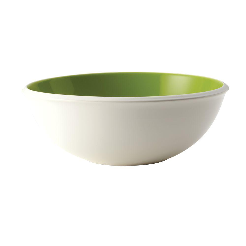 Serveware Rise 10 in. Stoneware Serving Bowl in Green
