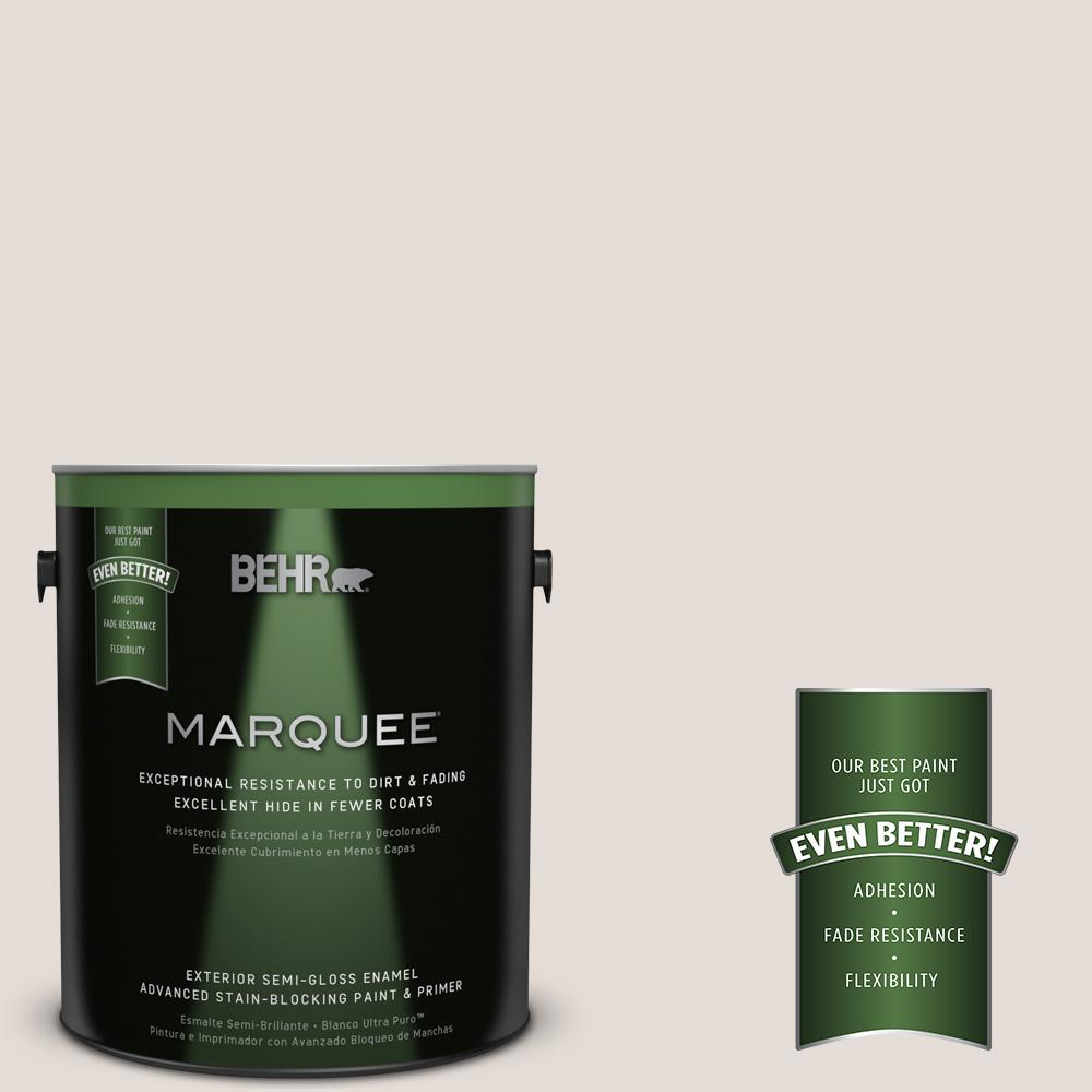 BEHR MARQUEE 1-gal. #T13-2 Empire Porcelain Semi-Gloss Enamel Exterior Paint
