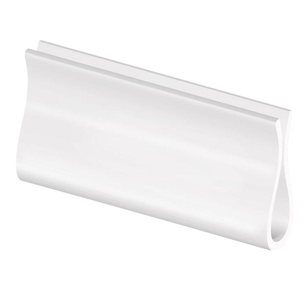 Bali Cut-to-Size White Roller Shade Hem Grip-38-0153-01 - The Home Depot