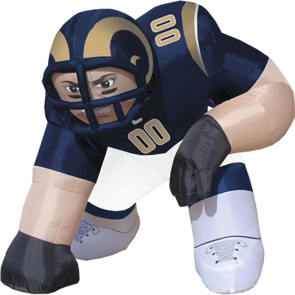 null 5 ft. Inflatable NFL St. Louis Rams Player Bubba - $99 VALUE