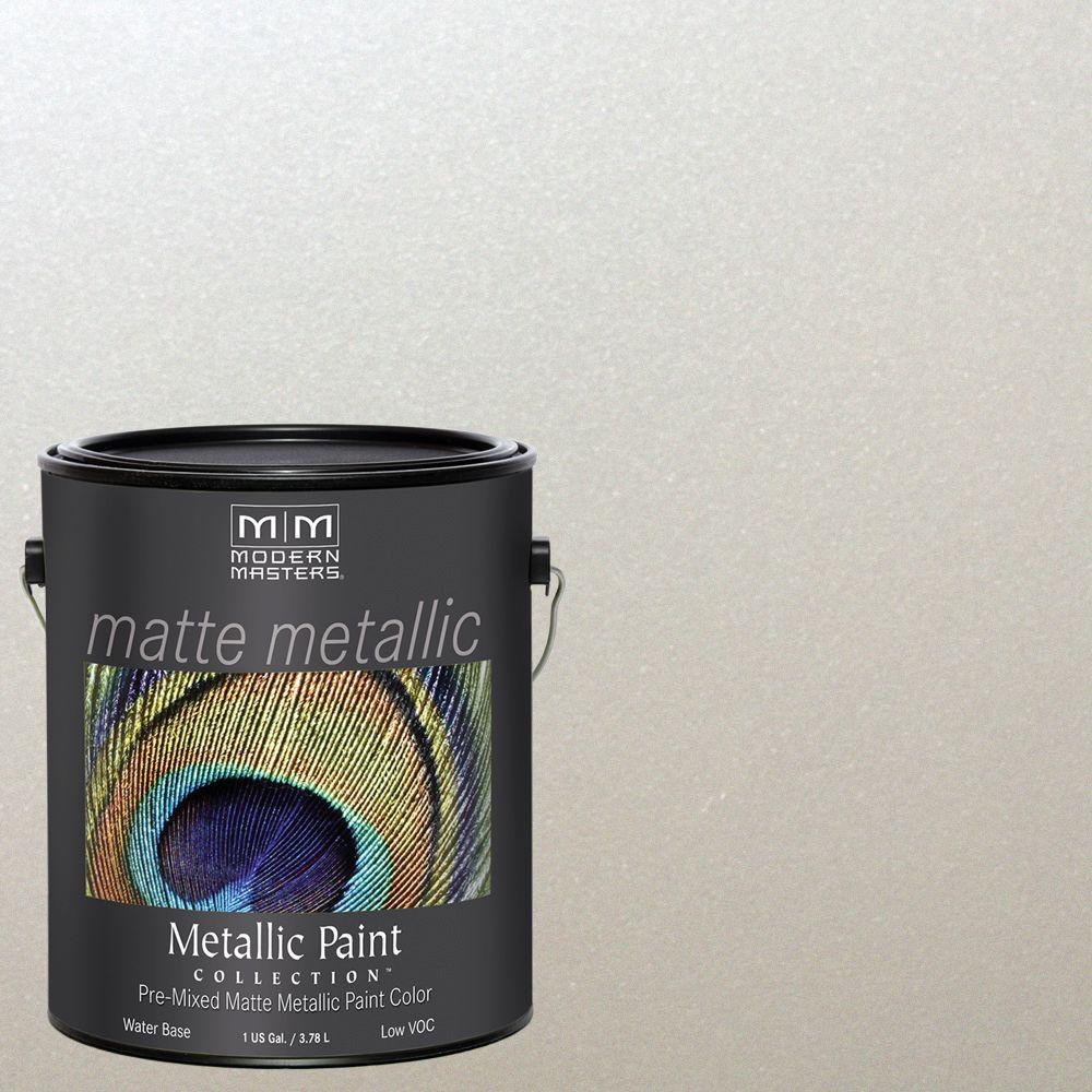 1 gal. Oyster Metallic Interior Paint