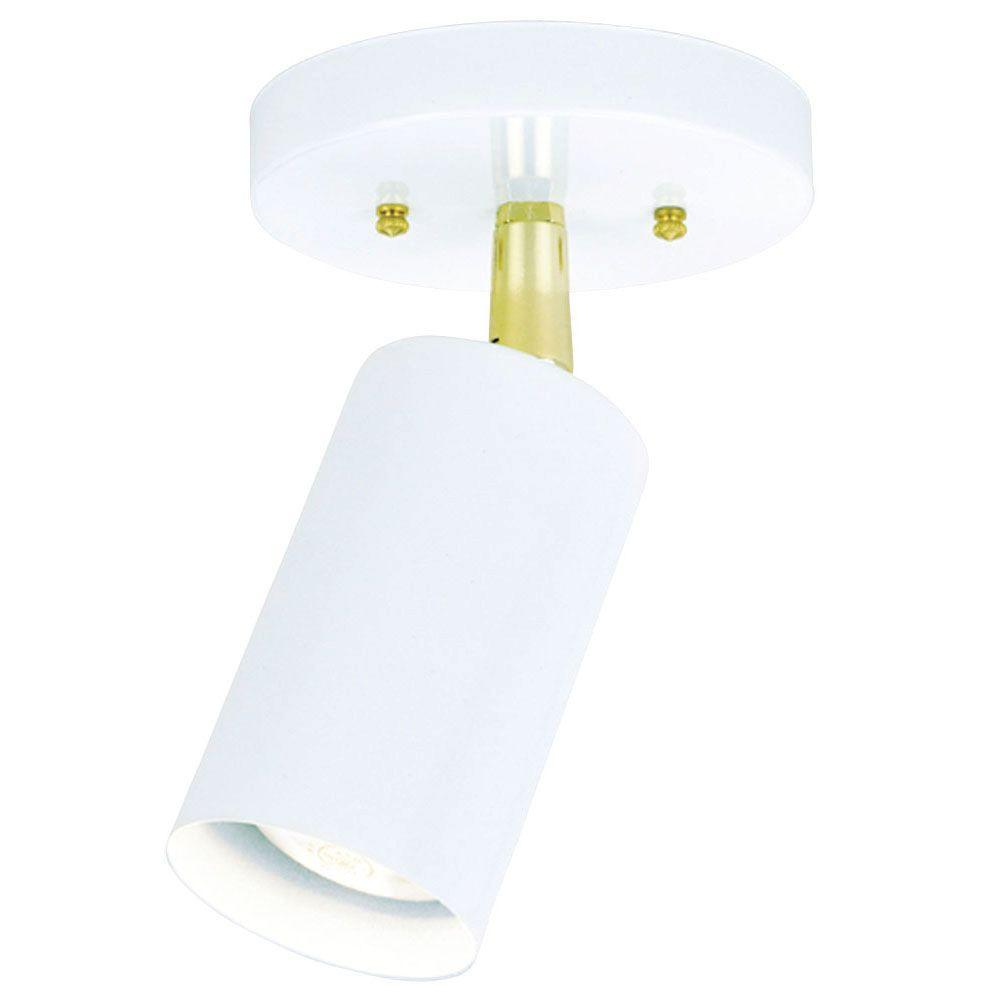 Westinghouse 1-Light White Interior Multi-Directional Ceiling Flushmount