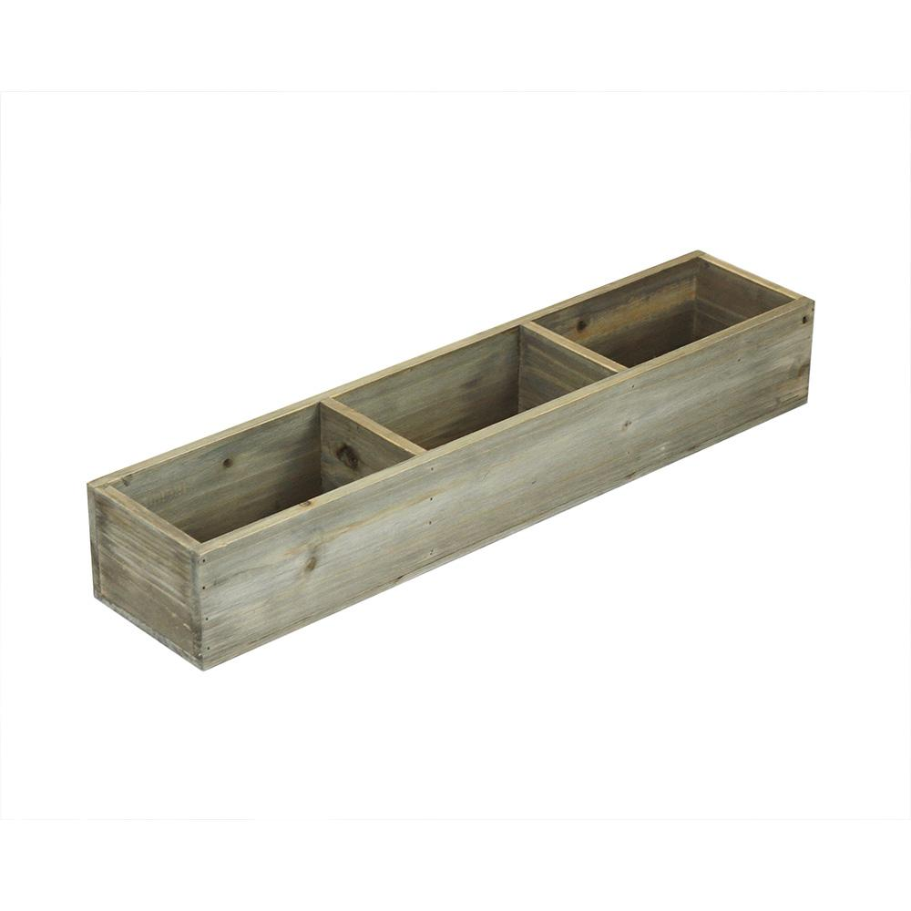 23-3/8 in. x 5 in. x 3-1/2 in. Decorative Divided Box