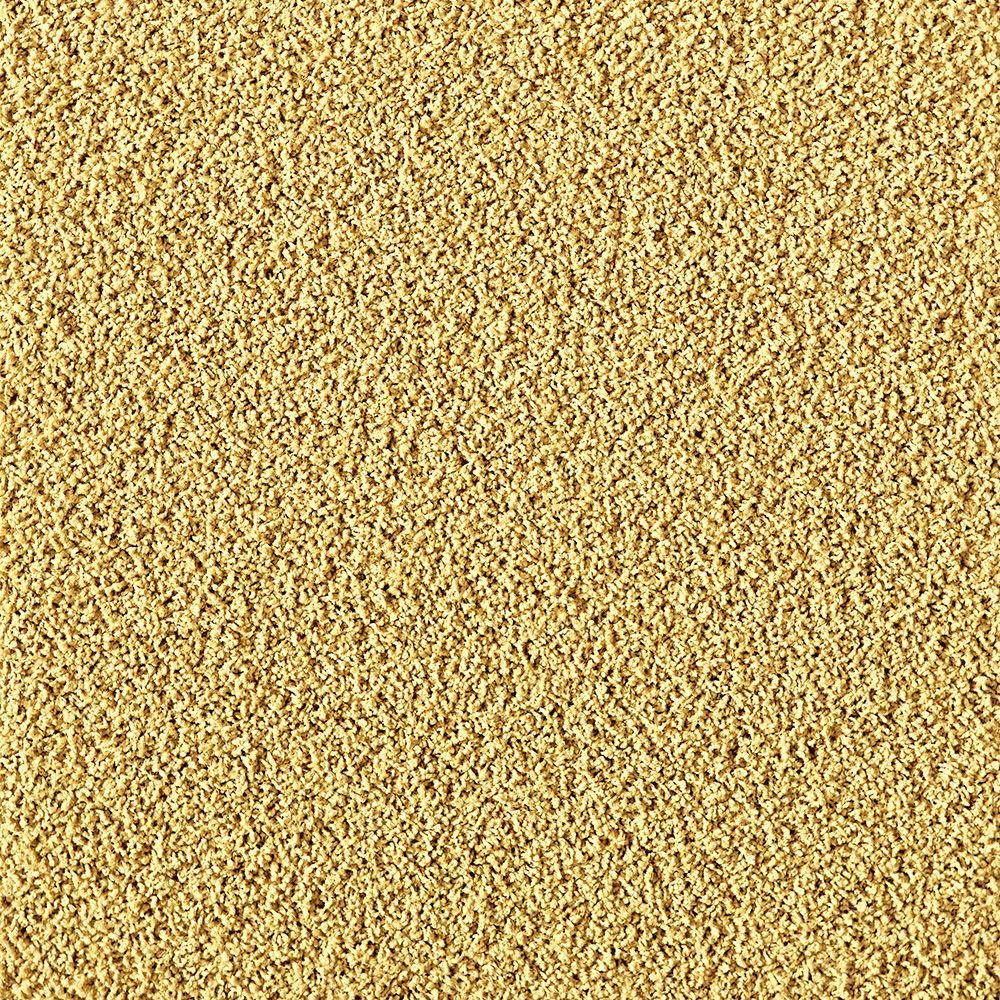 In The Deep Maize (Yellow) 19.7 in. x 19.7 in. Carpet Tile (6 Tiles/Case)