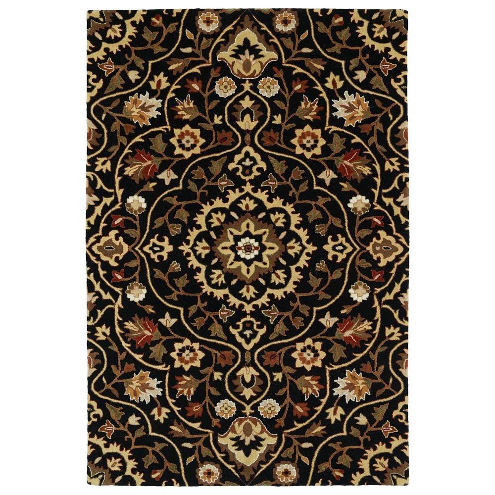 Middleton Black 5 ft. x 7 ft. 9 in. Area Rug