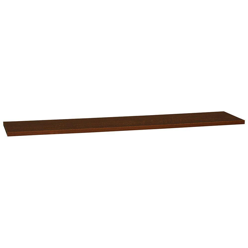 0.75x48x11.25 in. Universal End Panel in Cognac