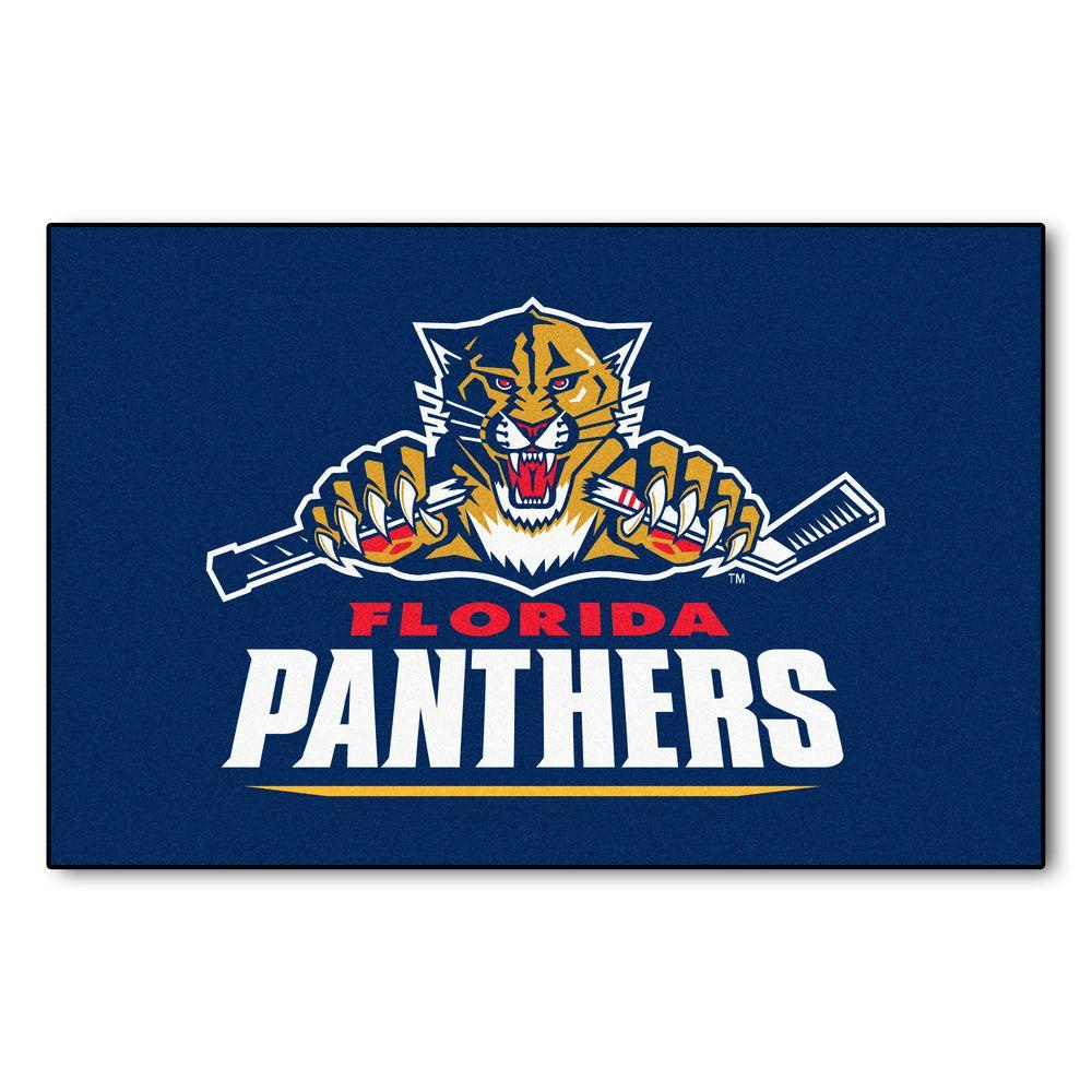 Florida Panthers 19 in. x 30 in. Accent Rug
