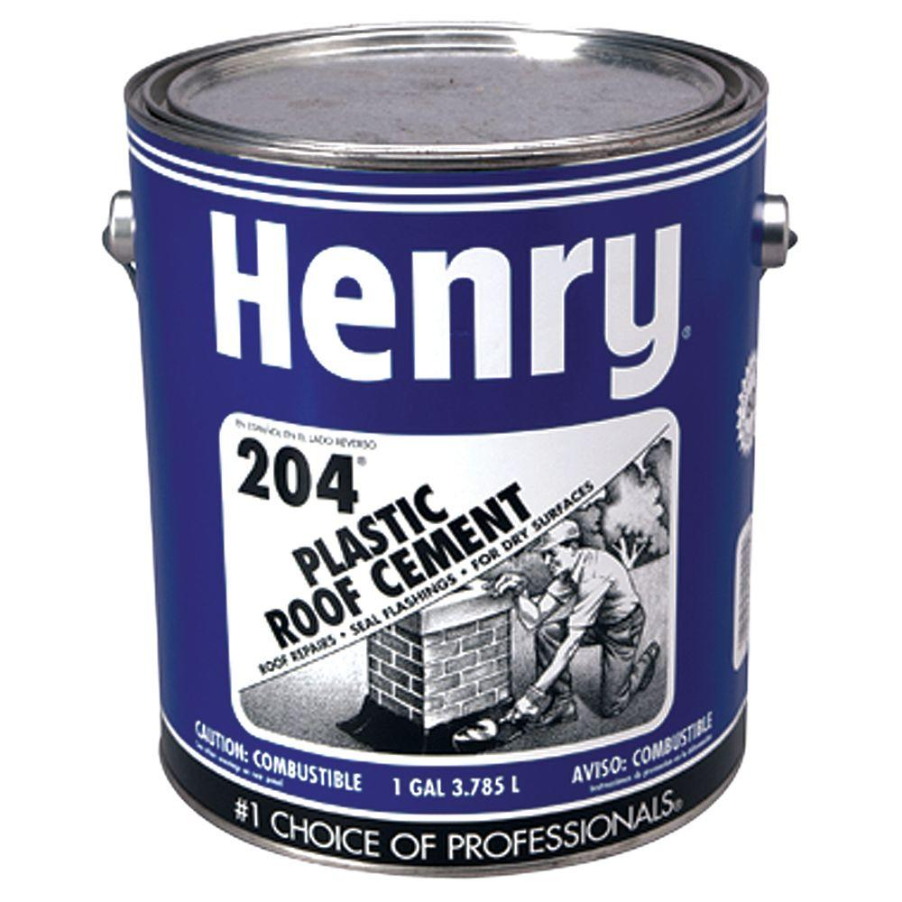 Henry 0.90-Gal. 204 Plastic Roof Cement