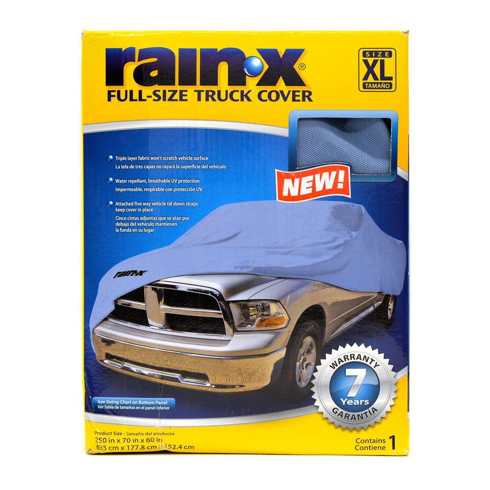 Rain-X Size X-Large Truck Cover in Blue