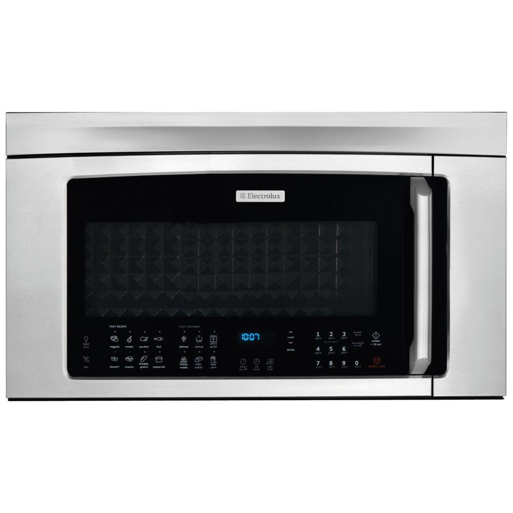 Electrolux 30 in. W 1.8 cu. ft. Over the Range Convection Microwave in Stainless Steel with Sensor Cooking