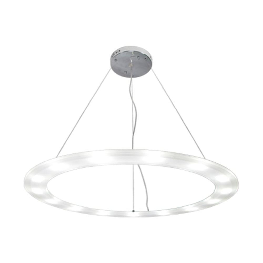BAZZ Orion Collection 1-Light Large Ring White LED Pendant-DISCONTINUED