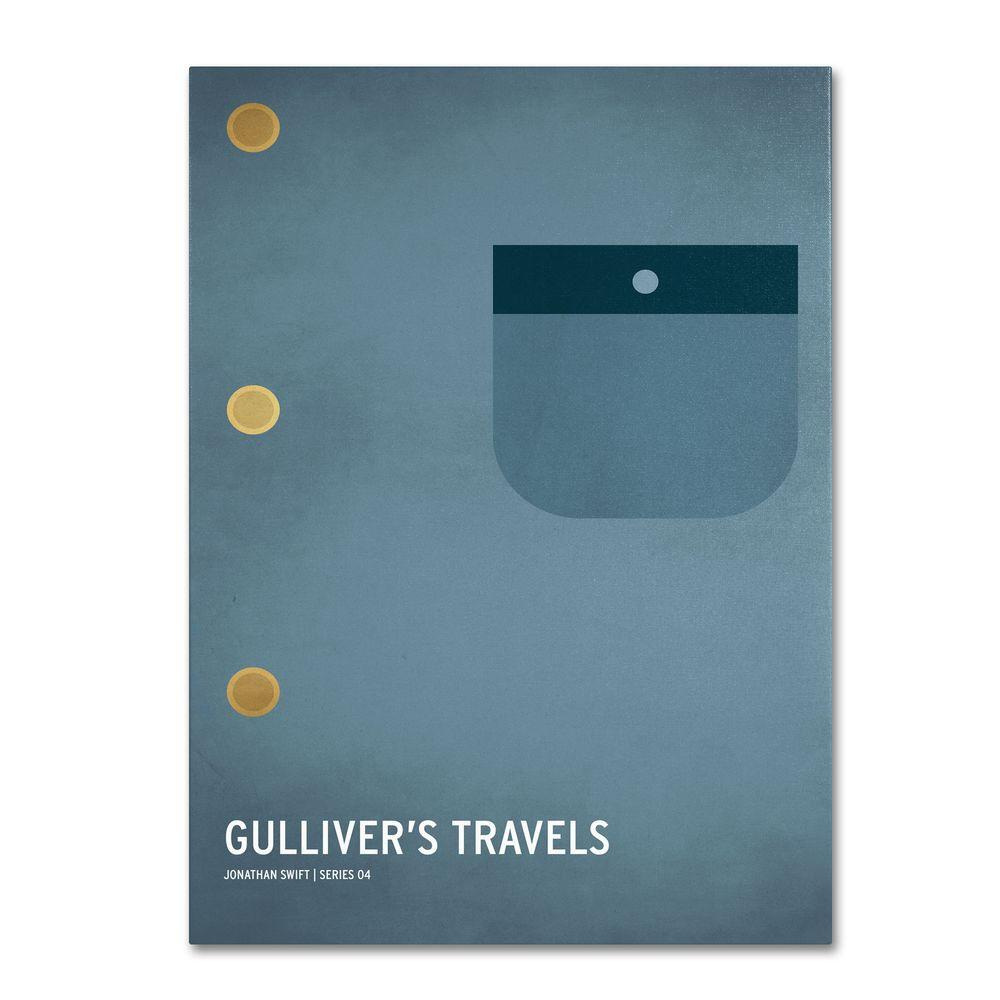 22 in. x 32 in. Gulliver's Travels Canvas Art