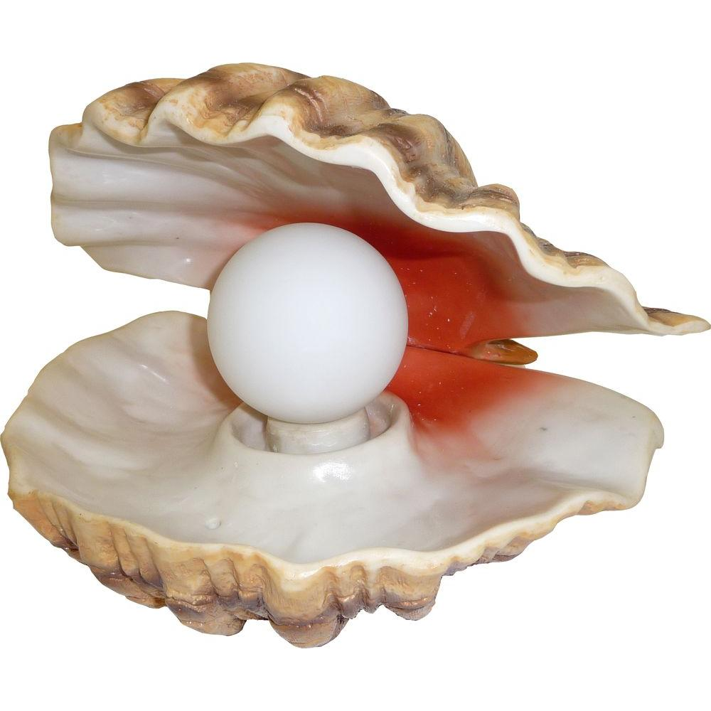 HomeBrite Solar Solar Powered Progressive Color Changing Novelty LED Mood Light Pearl in Clam Shell