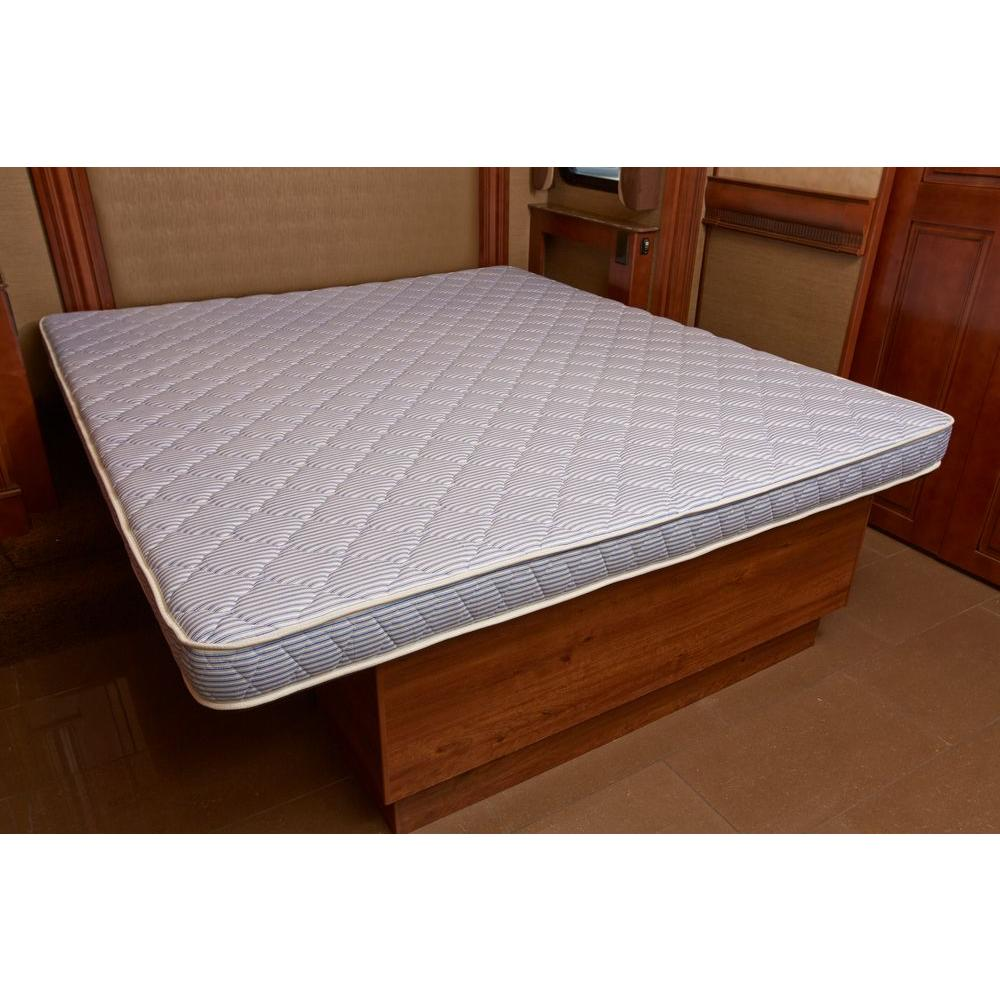 Innerspace luxury products rv camper queen size high density foam mattress rv 6080 the home depot Mattress queen size