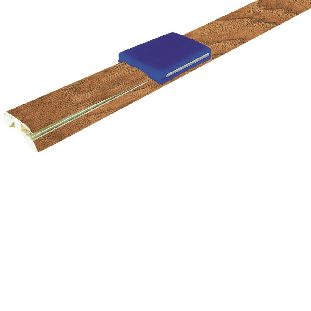 Mohawk Suede Hickory 1-7/8 in. Wide x 83-1/2 in. Length 4-in-1 Laminate Molding-DISCONTINUED
