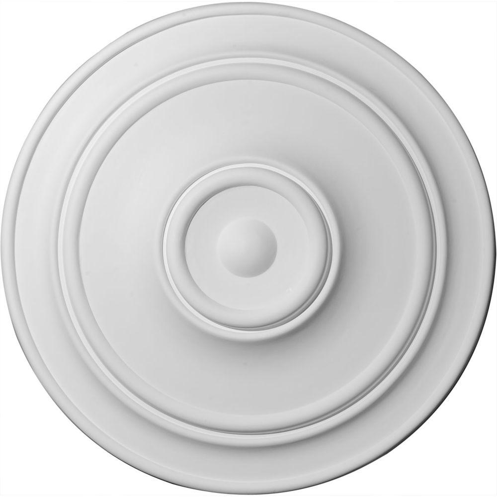 Ekena Millwork 40-1/4 in. Small Classic Ceiling Medallion