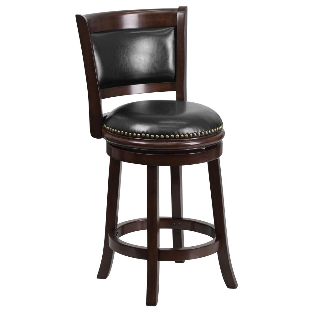 Home decorators collection garden 30 in h brush aluminum backless bar height stool 1042800200 Home depot wood bar stools