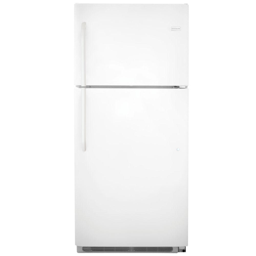 Frigidaire 20.5 cu. ft. Top Freezer Refrigerator in Pearl, Energy