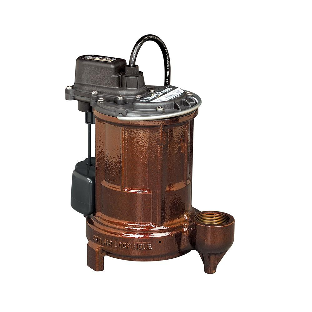 250 Series 1/3 HP Submersible Sump/Effluent Pump
