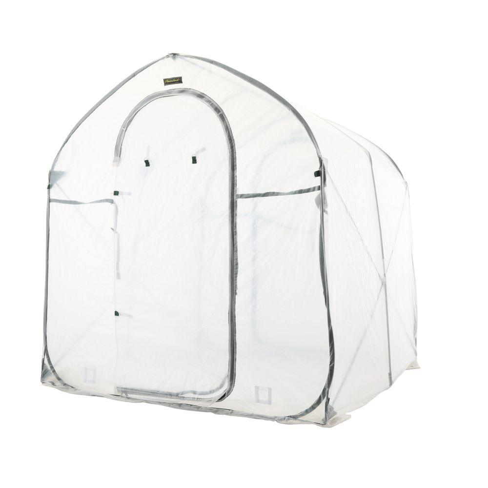FlowerHouse Greenhouses 72 in. W x 72 in. D x 78 in. H Deep Pop-Up Greenhouse FHSP300 Greenhouse, Hoop House, Grow House, High Tunnel, Hothouse, Plant House, Grow Tunnel, Garden Supplies