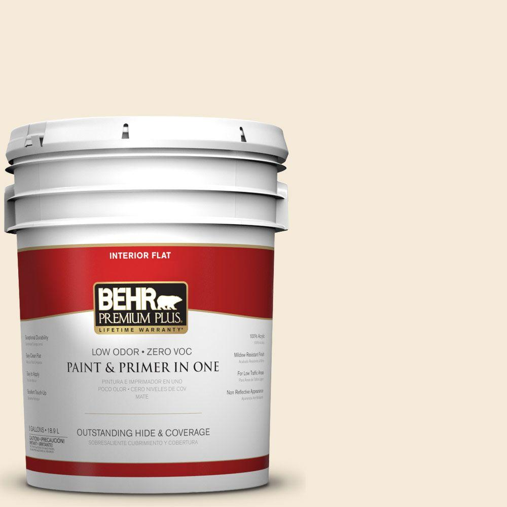 5-gal. #BXC-47 Marquee White Flat Interior Paint