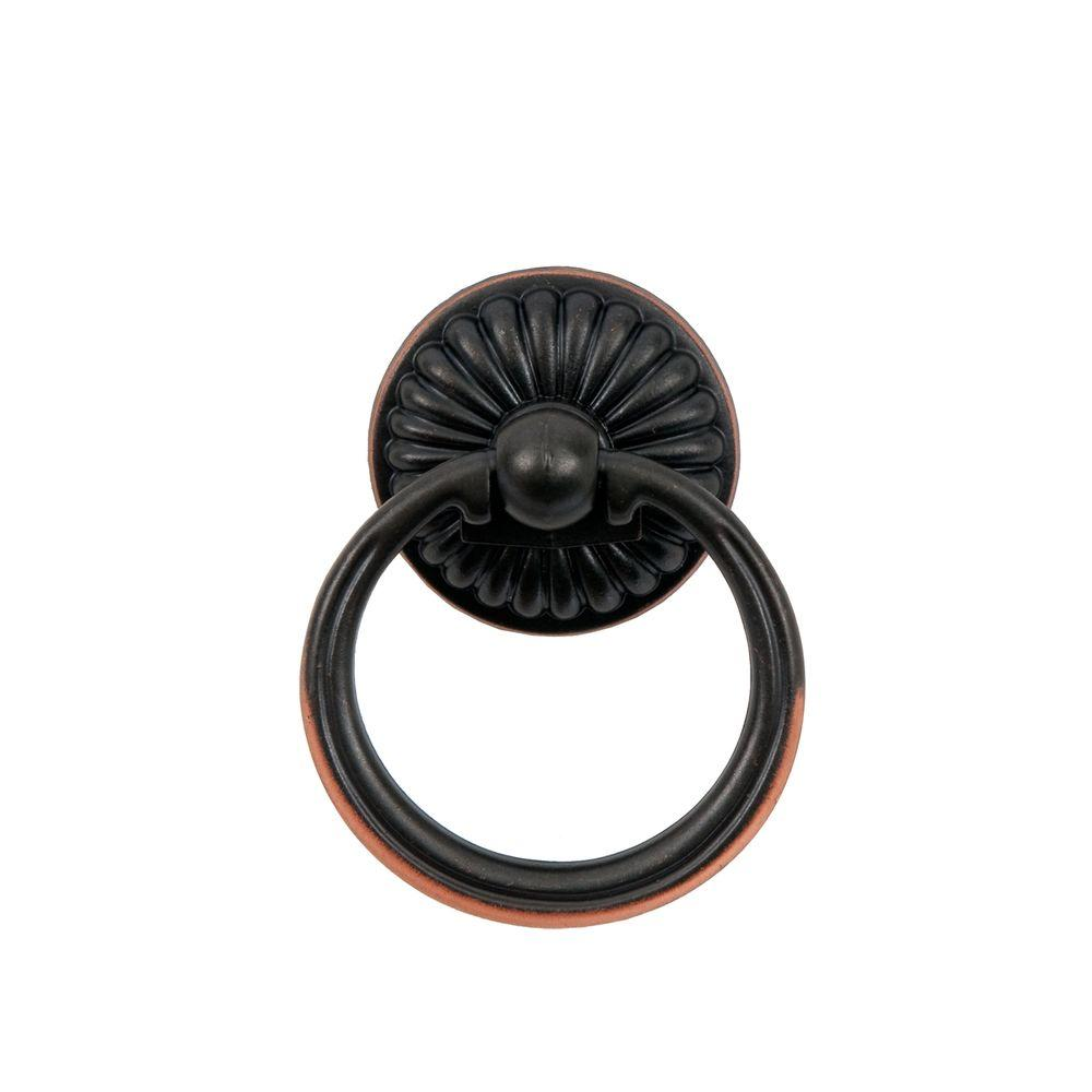 Sumner Street Home Hardware Belmont 2 in. Oil Rubbed Bronze Ring Pull