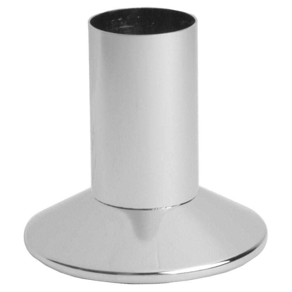 1 in. Shower Flange for Harcraft Faucets in Chrome