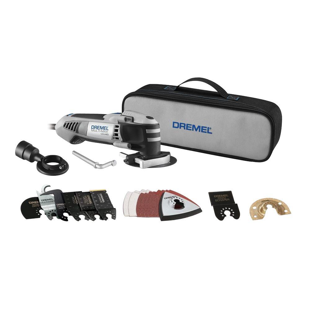 Dremel 2.5 Amp Multi-Max Ultimate Corded Oscillating Tool Kit with Quik-Lock