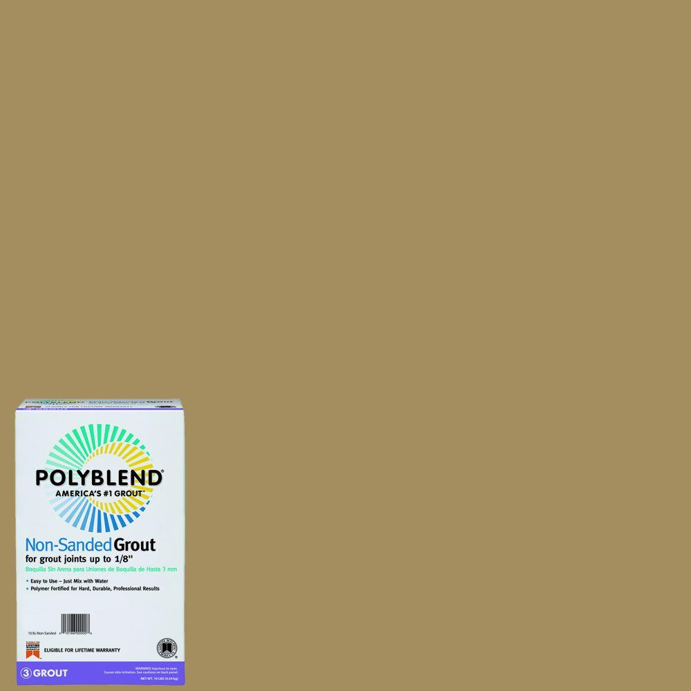 Custom Building Products Polyblend #156 Fawn 10 lb. Non-Sanded Grout-PBG15610 -