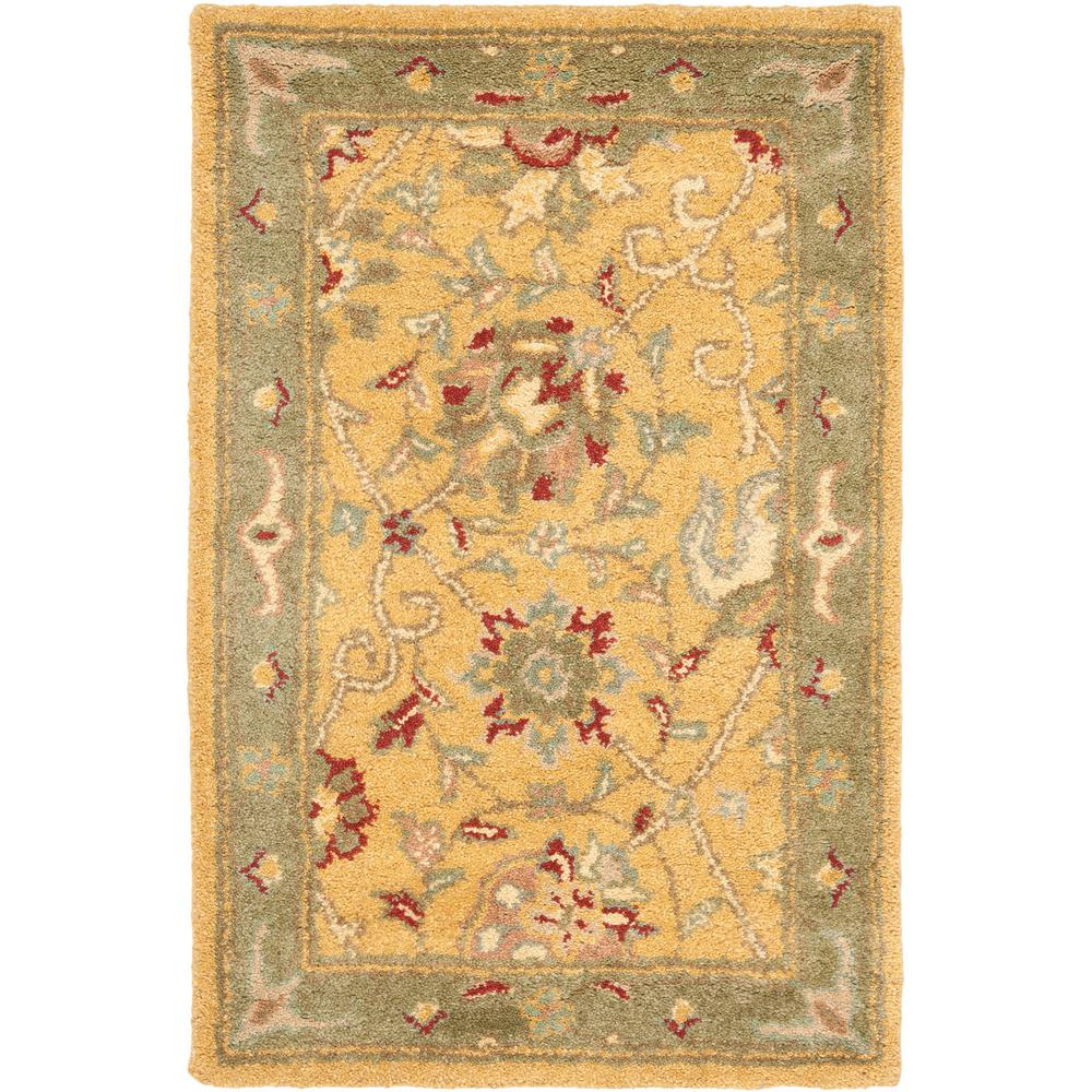 Antiquity Gold 2 ft. x 3 ft. Area Rug