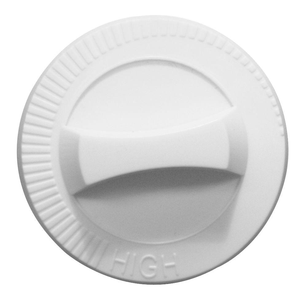 Com-Pak Plus/Com-Pak Twin Replacement Knob in White