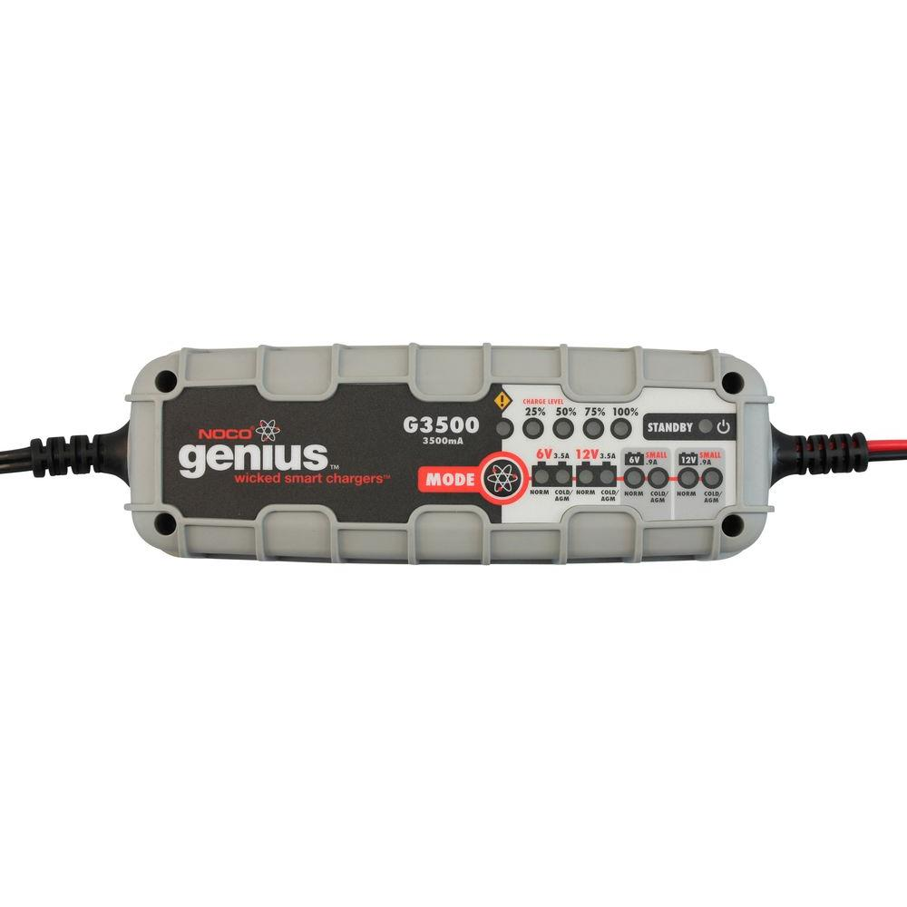 NOCO 6-Cell 3500mA Genius Battery Charger and Maintainer