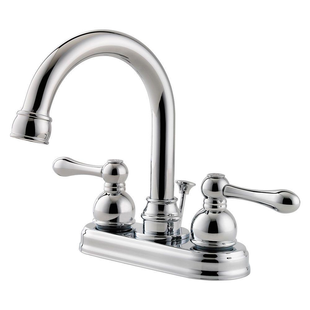 Pfister Faucets Bathroom: Pfister Kenzo 2-Handle Wall Mount Bathroom Faucet In Matte