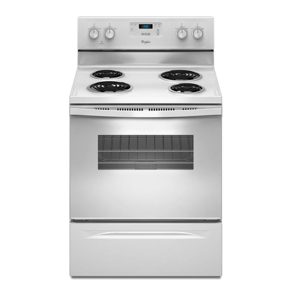 Whirlpool 4.8 cu. ft. Electric Range in White