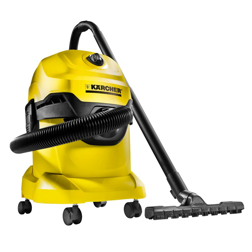 Karcher 5.3 Gal. WD4 Wet/Dry Vacuum-1.348-115.0 - The Home Depot