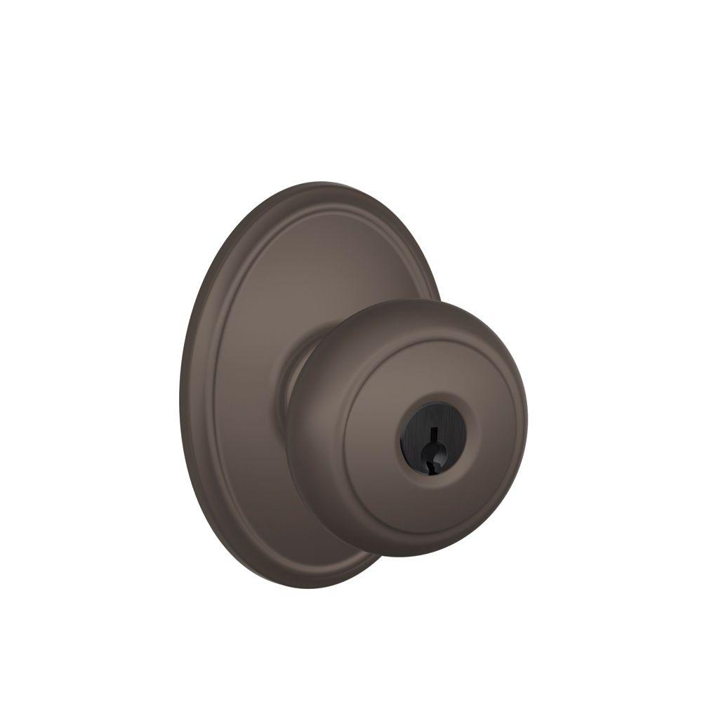 Wakefield Collection Oil-Rubbed Bronze Andover Keyed Entry Knob