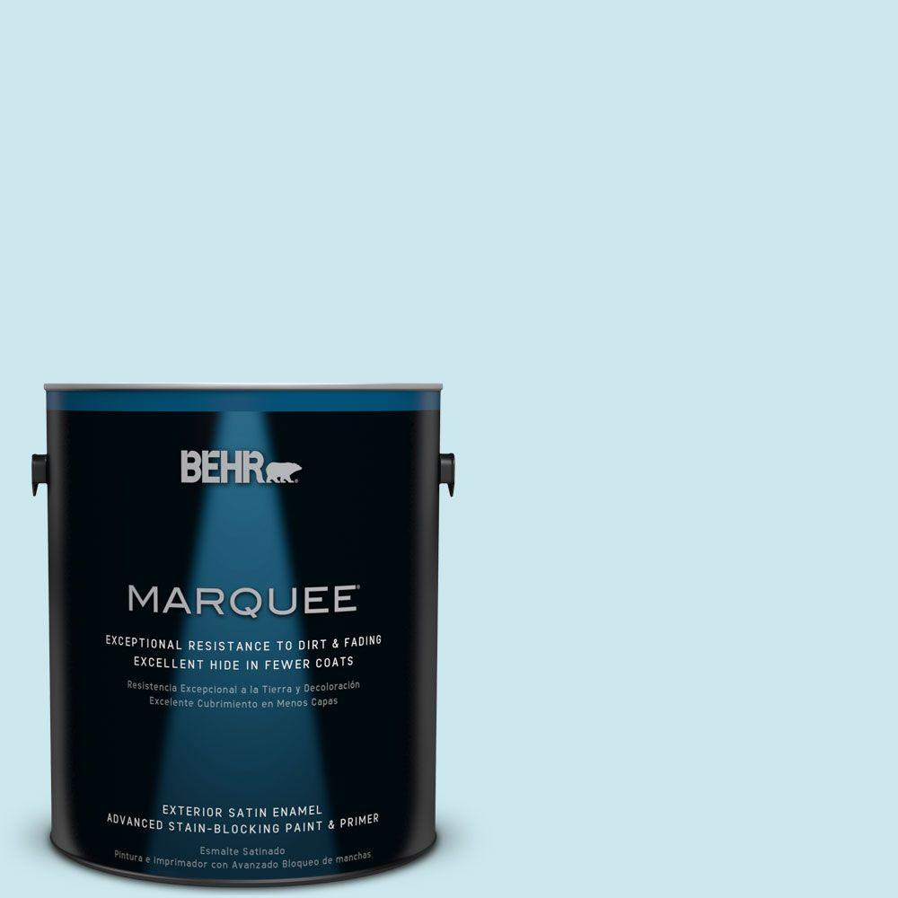 BEHR MARQUEE 1 gal. #MQ3-52 Ethereal Mood Satin Enamel Exterior Paint-945001
