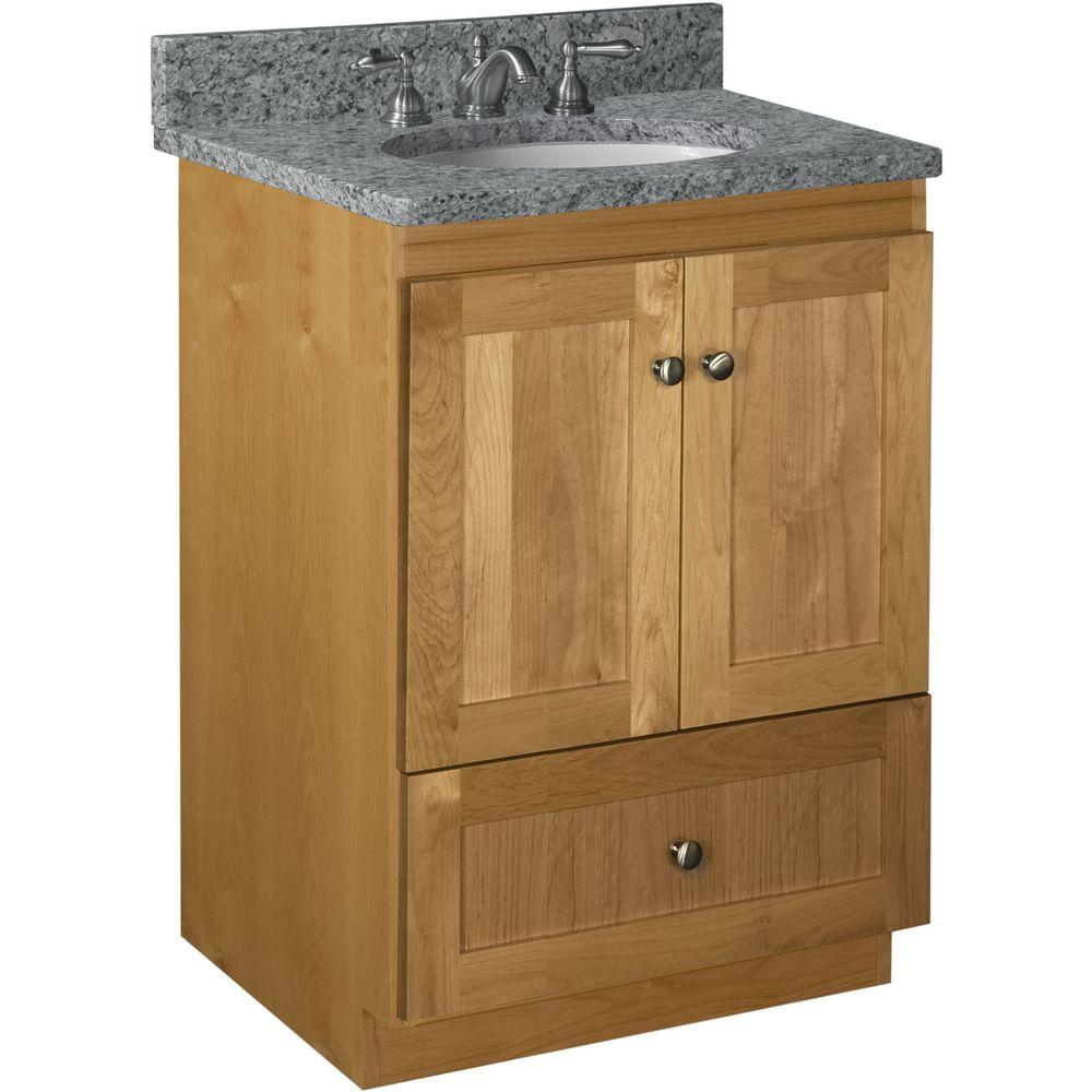 shaker bathroom cabinets simplicity by strasser shaker 24 in w x 21 in d x 34 5 14384