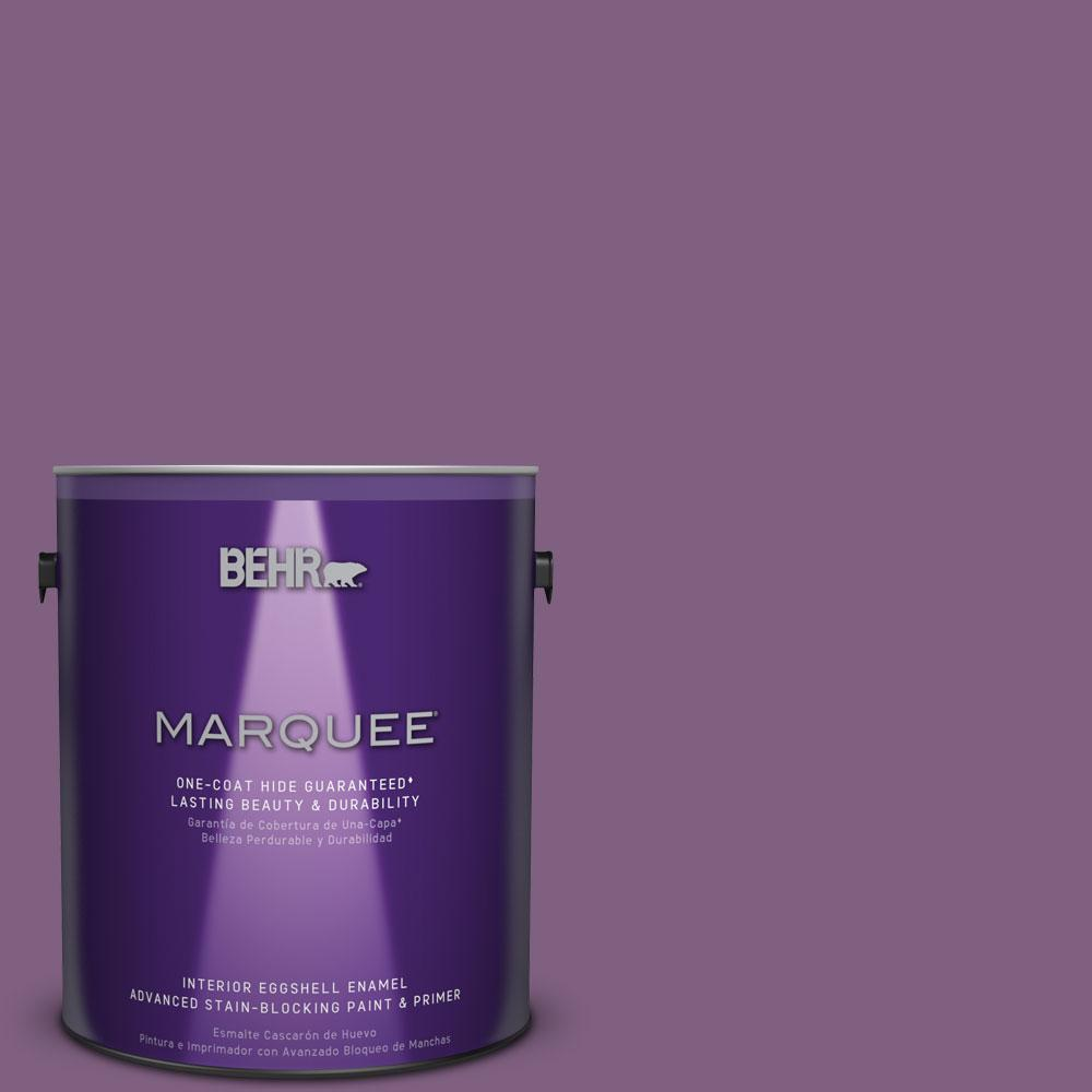 BEHR MARQUEE 1 gal. #MQ5-34 Showstopper One-Coat Hide Eggshell Enamel Interior Paint