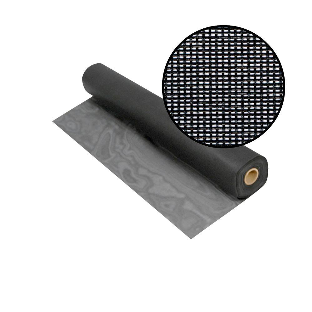 36 in. x 100 ft. Charcoal Solar Insect Screen