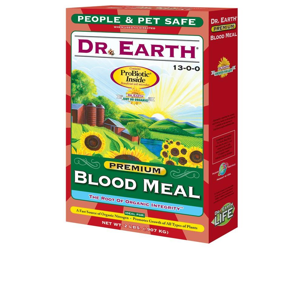 DR. EARTH 2 lb. Blood Meal-716 - The Home Depot