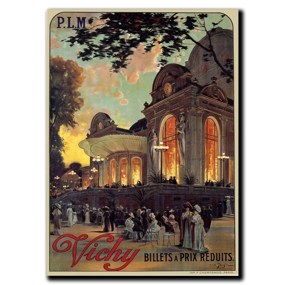 Trademark Fine Art 35 in. x 47 in. Vichy Canvas Art