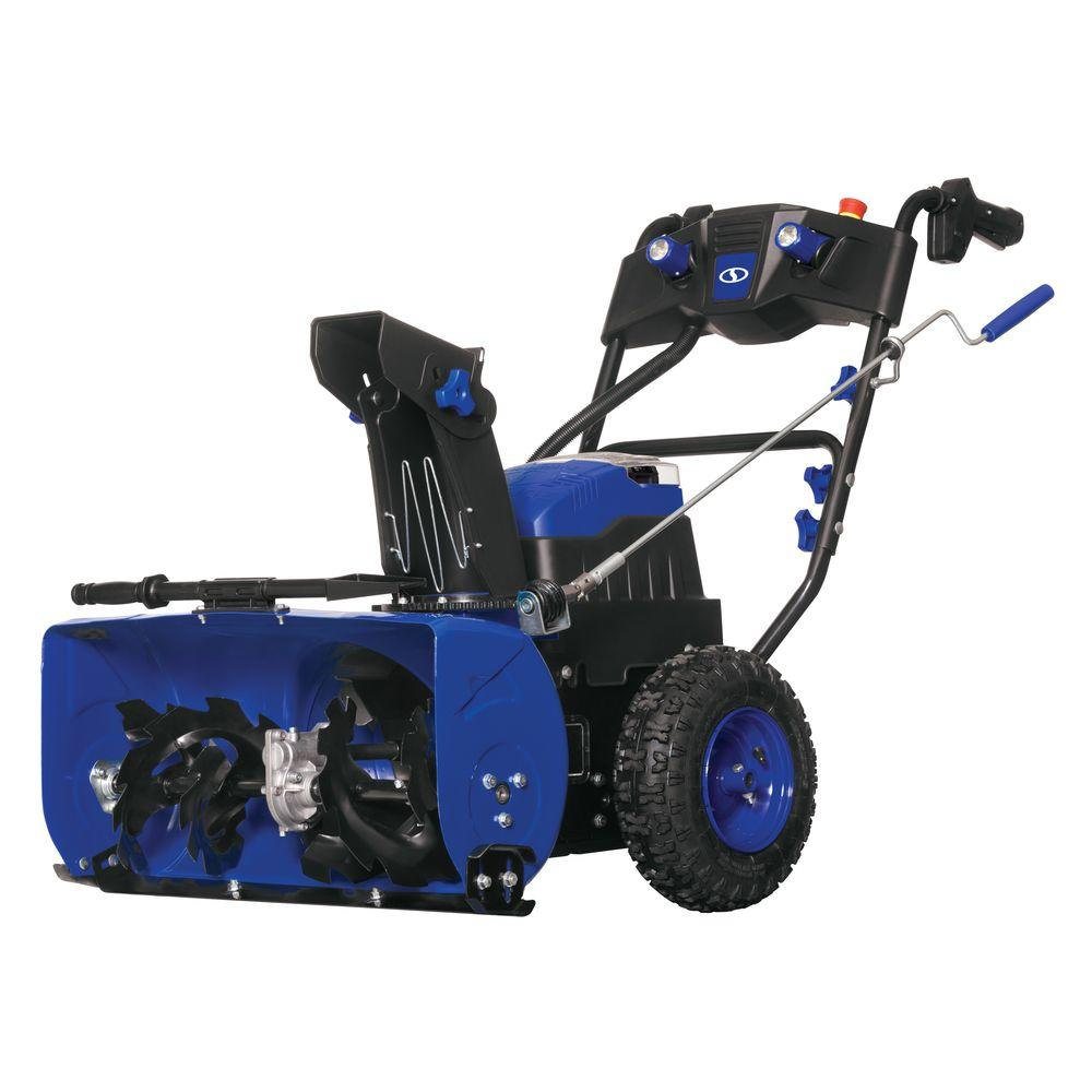 Snow Joe iON 24 in. Cordless Electric Self-Propelled Dual-Stage Snow Blower