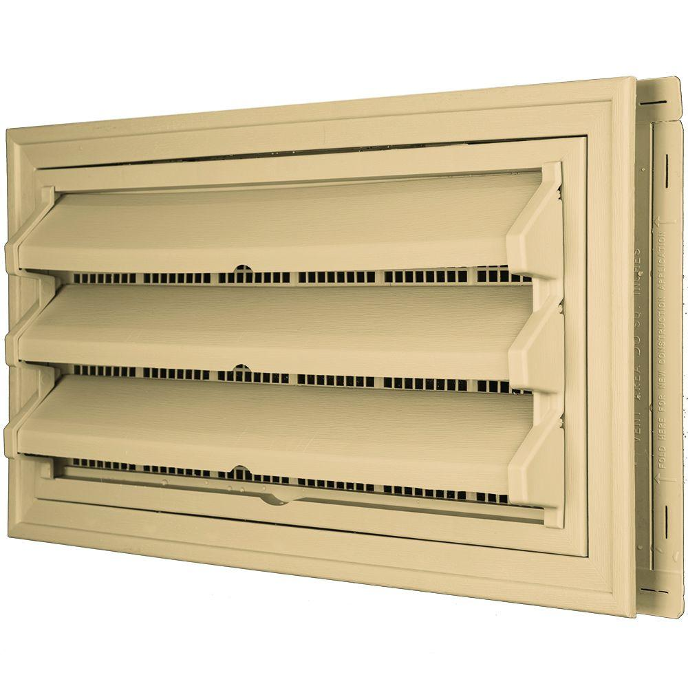 9-3/8 in. x 17-1/2 in. Foundation Vent Kit w/ Trim Ring