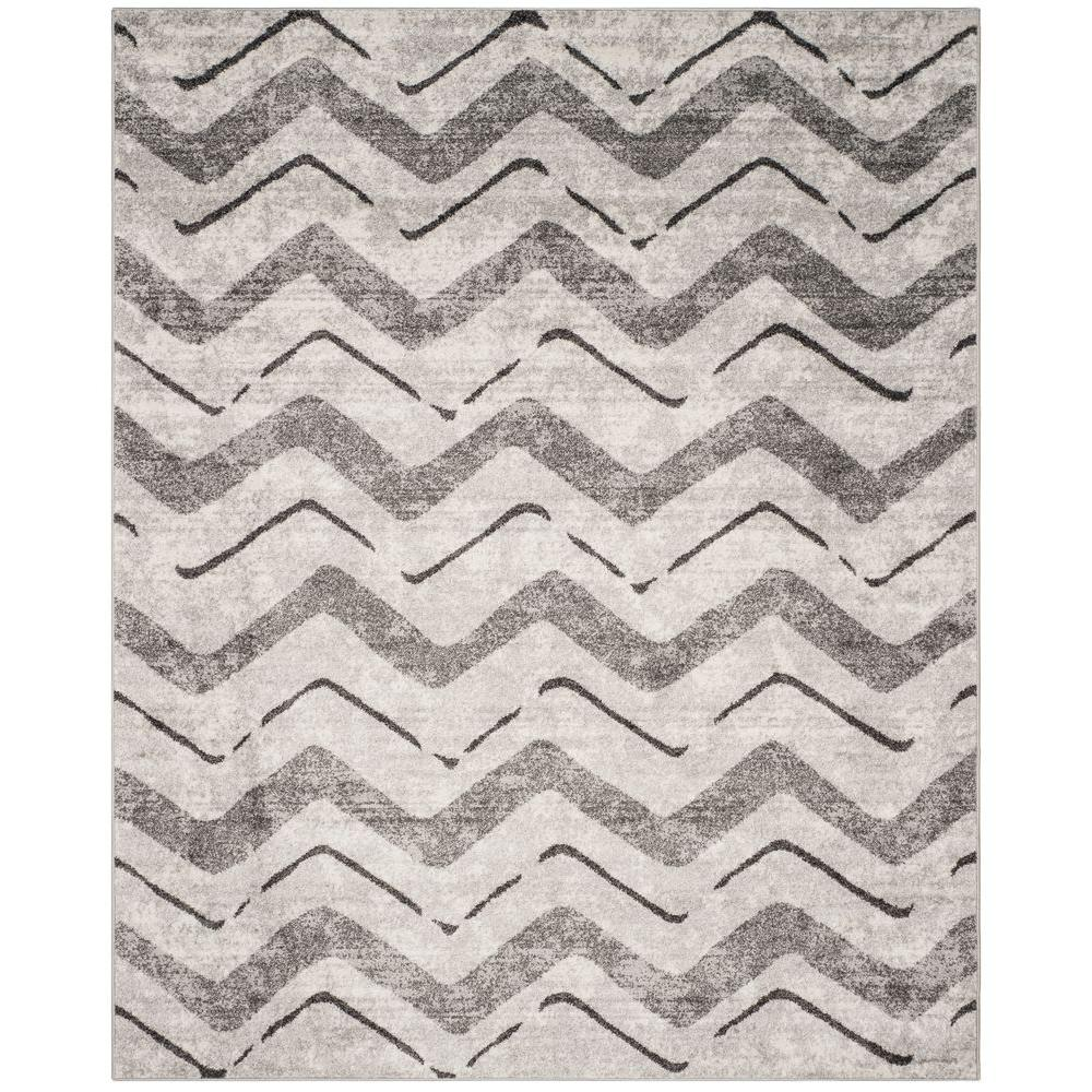 Safavieh Adirondack Silver/Charcoal 8 ft. x 10 ft. Area Rug-ADR121P-8 -
