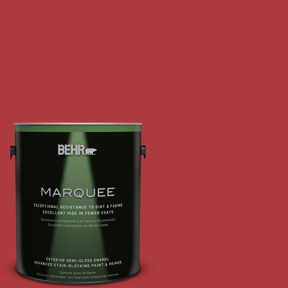 BEHR MARQUEE Home Decorators Collection 1-gal. #HDC-WR14-10 Winter Poinsettia Semi-Gloss Enamel Exterior Paint