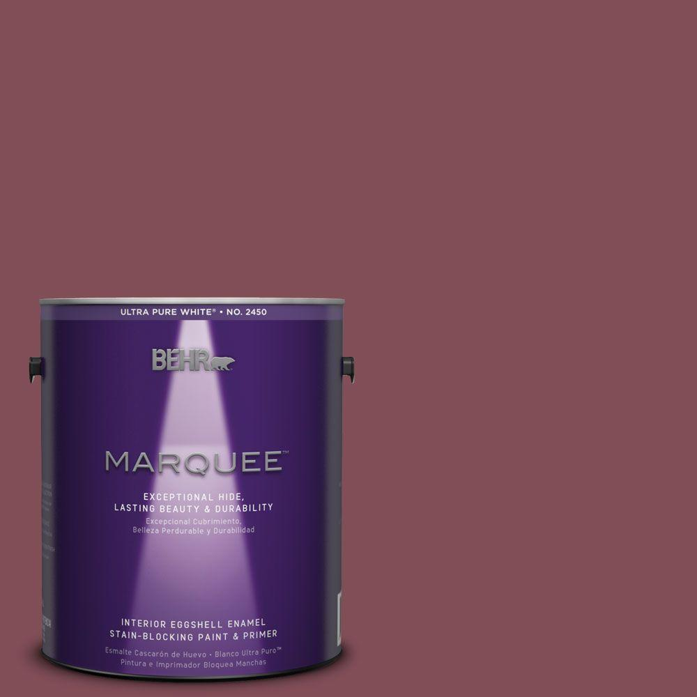 BEHR MARQUEE 1-gal. #HDC-SP14-11 Rouge Charm Eggshell Enamel Interior Paint